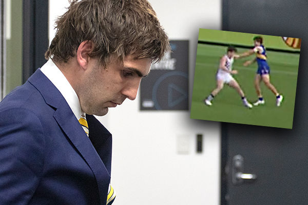 Article image for SEASON OVER: AFL star cops hefty suspension for sickening punch