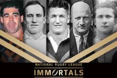 NRL drops Immortals bombshell