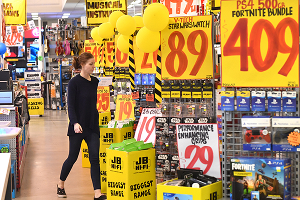 Article image for JB Hi-Fi shrugs off competition as profit jumps 35 per cent