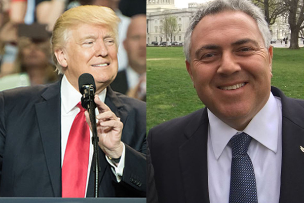 Joe Hockey on President Trump: 'When did you last have a president like that?'