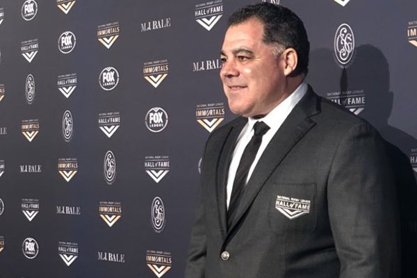 Immortal status sinking in for Mal Meninga: 'It's bigger than me'