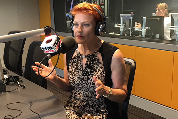 Article image for Pauline Hanson blames 'nose rings and tattoos' for unemployment