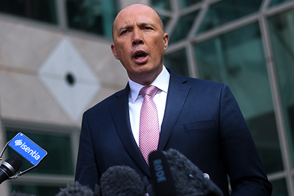 Article image for Peter Dutton not ruling out second challenge after failed leadership spill