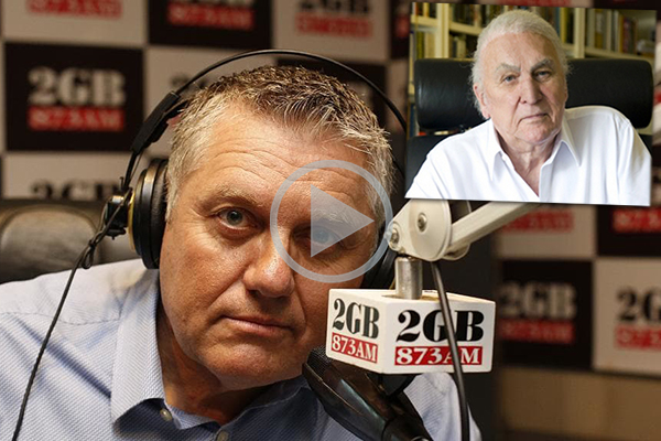 Article image for WATCH | Ray Hadley's message to John Laws