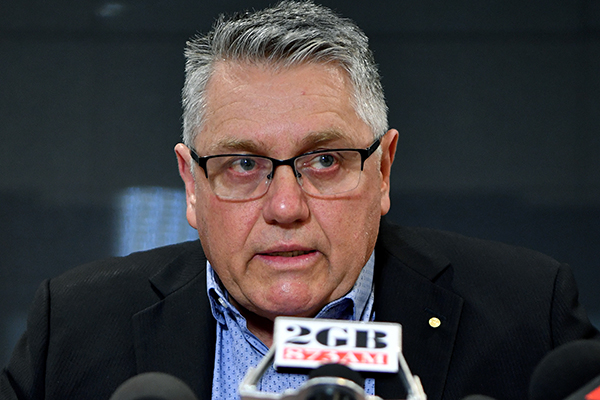 Article image for Ray Hadley statement on police charges