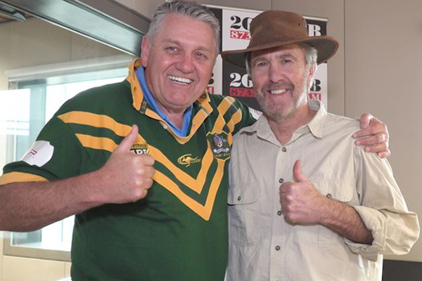 Article image for Russell Coight's hilarious admission after learning of Ray Hadley's 'condition'