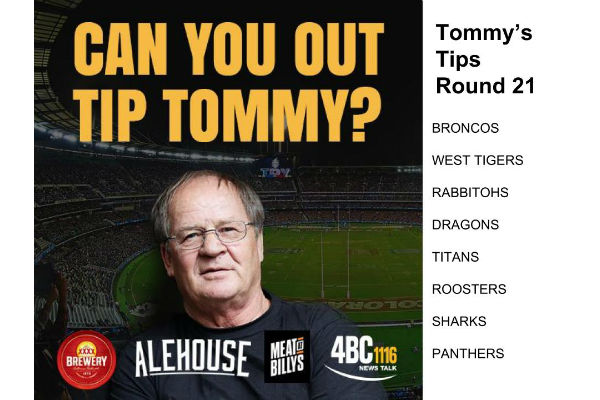 Tommy's Tips Round 21