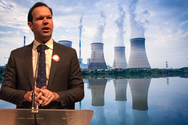 Resources Minister 'not against nuclear' but insists coal is the short-term solution