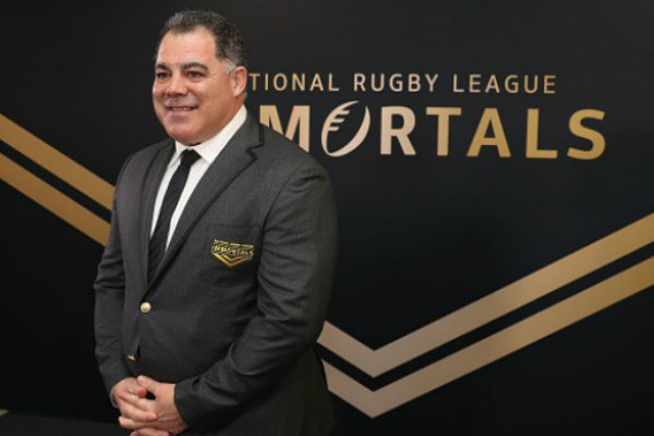 Mal Meninga, always a legend now an immortal