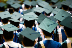 The earning gap between uni and high school graduates is narrowing