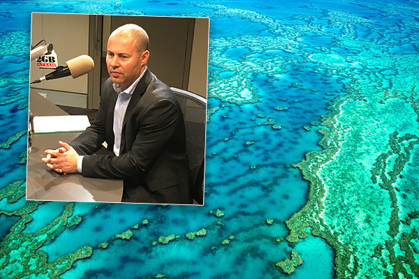 Treasurer says $444-million grant is justified, 'the Barrier Reef needs more funding'