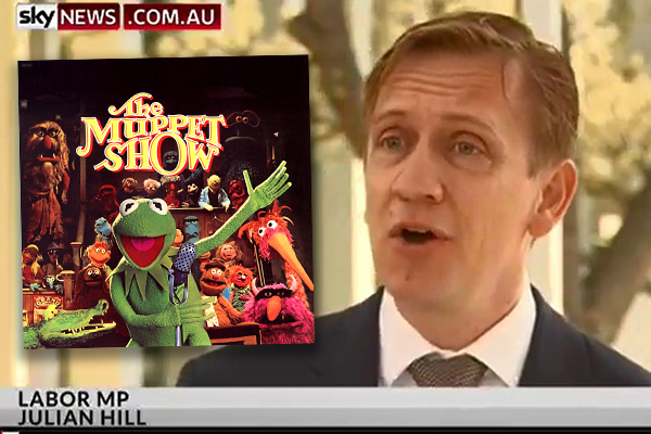 Labor MP gives his own rendition of The Muppet Show introduction