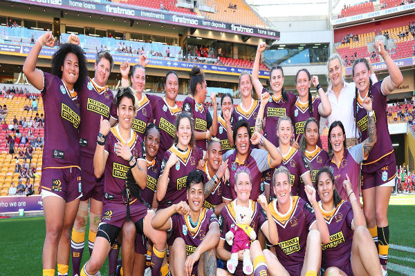 Broncos women's side ready for NRLW debut