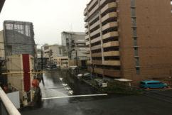 Aussies experience Typhoon Jebi in Osaka
