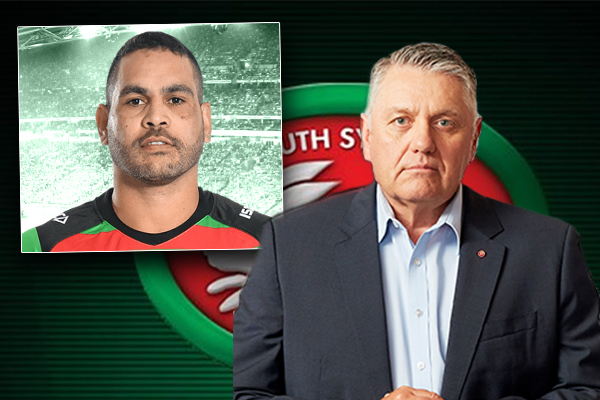 Article image for 'I can't express to you enough my thanks': An emotional Ray speaks with Greg Inglis