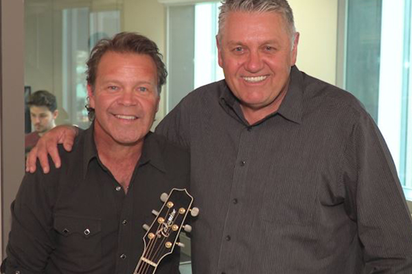 Article image for Country music royalty joins Ray in the studio