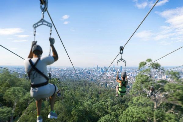 Cutting the cord on the Mt Coot-tha Zipline