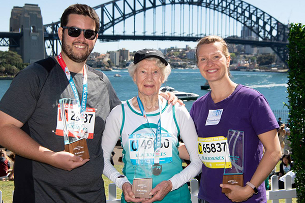 91yo champion walker Heather Lee awarded special honour