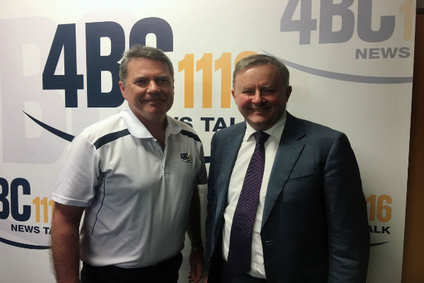 Albo promises big things for SEQ under Labor