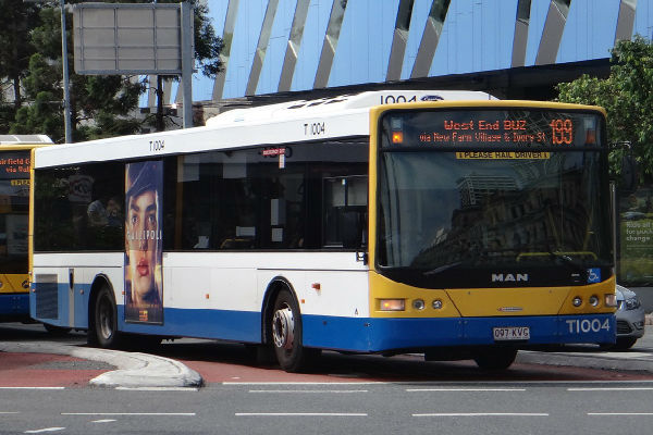 Greater Brisbane has Australia's worst public transport