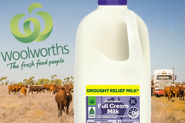 Drought relief milk raises more than half a million dollars already