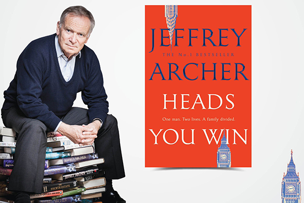 Lord Jeffrey Archer to release his 'biggest' novel in 40 years