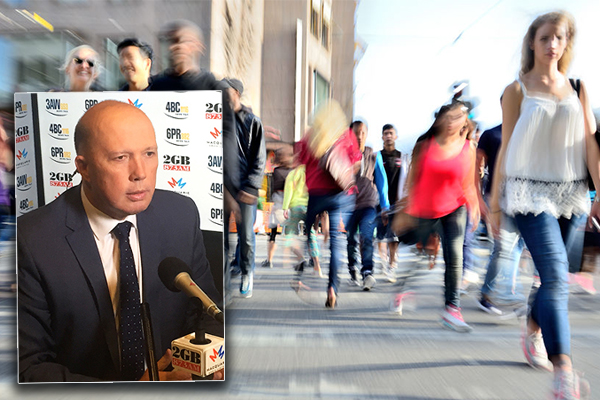 Article image for Peter Dutton:Tackling migrant congestion is a balancing act