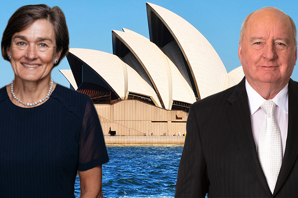 Alan Jones apologises to Opera House CEO Louise Herron