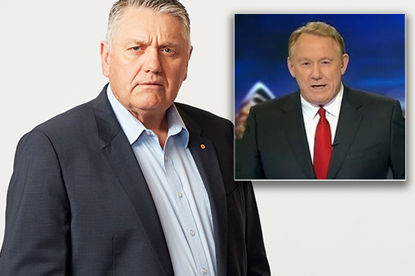 Newsreader Ron Wilson threatens to sue Ray Hadley