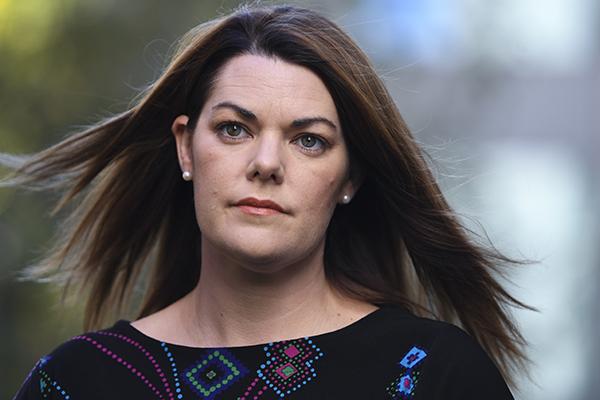 Greens Senator Sarah Hanson-Young apologises to Ray Hadley
