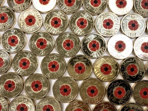 The new Centenary of Armistice $2 Coin - Royal Australian Mint