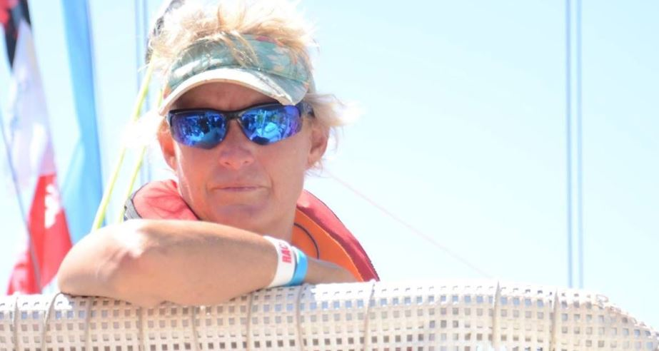 From one sailing champion to another…