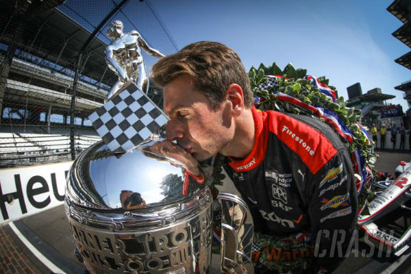 IndyCar star home to Qld for a well earned break