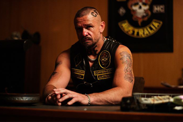 How Matt Nable prepared for his new role as a hardcore bikie boss