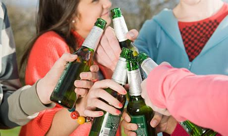 Are young people rejecting alcohol?