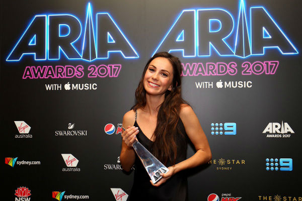 Gold Coast's Amy Shark takes a big bite out of the ARIAs