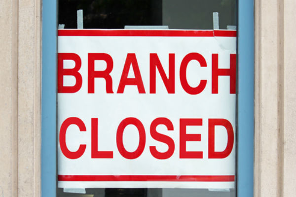 Getting harder to bank on finding a branch