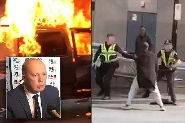 Intelligence agencies investigating motives of Bourke Street attacker, says Dutton