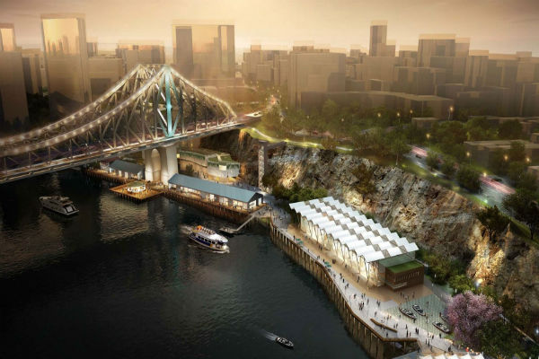 Howard Smith Wharves stage-1 officially open