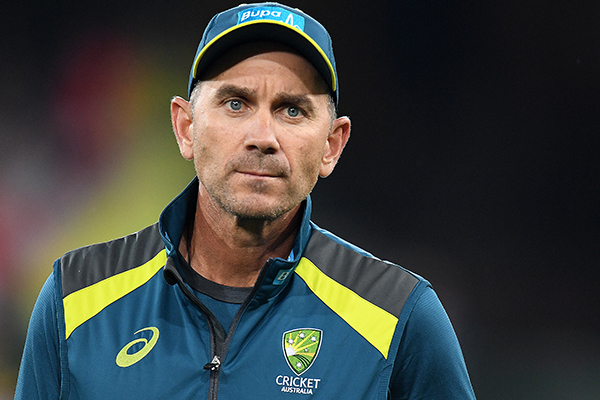 Article image for 'Feels like I'm navigating through a fire': Australian cricket coach Justin Langer admits 'baptism of fire'