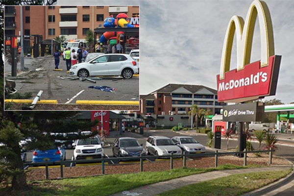 Truck in Wollongong McDonald's crash had 'faulty brakes'