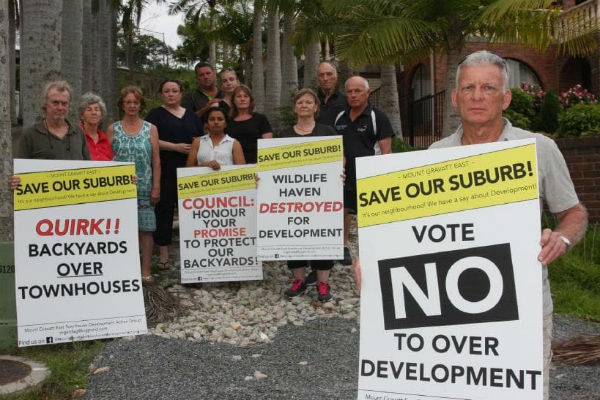 Uphill battle to fight Mt Gravatt development