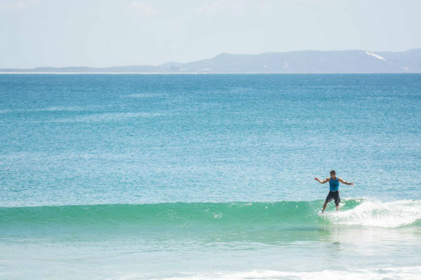 Surfing course at Sunshine Coast University