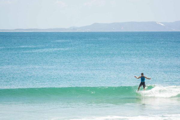 Surfing course at Sunshine Coast University