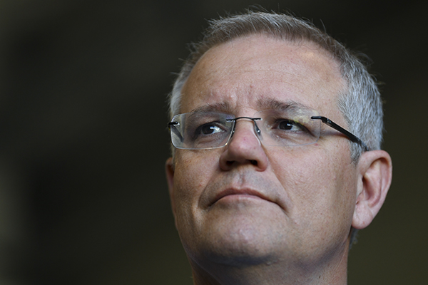 Prime Minister Scott Morrison takes a swipe at Malcolm Turnbull over Bali conference