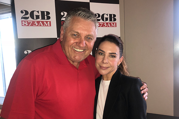 Article image for Australian sweetheart Kate Ritchie joins Ray Hadley in studio