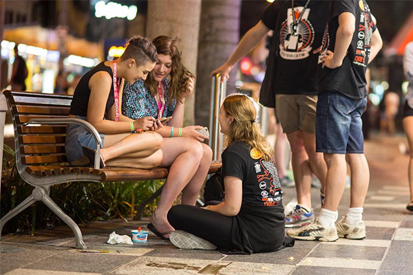 Article image for The volunteers keeping Schoolie-goers in check