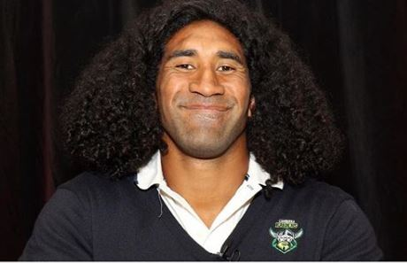 Article image for Canberra Raiders star Sia Soliola doesn't look like this anymore…