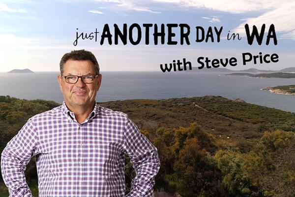Day One of Steve Price's Western Australia road trip