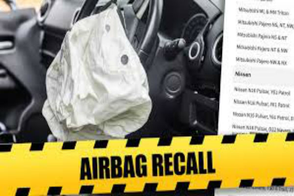 Replace dangerous airbags or risk your rego
